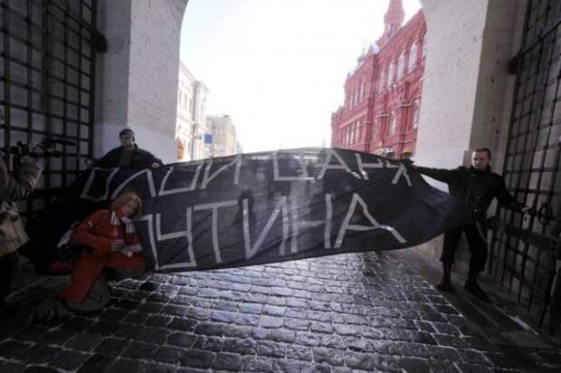 Путч или революция: что снесет Путина?