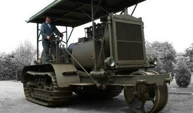 1918 год: первый советский гусеничный трактор