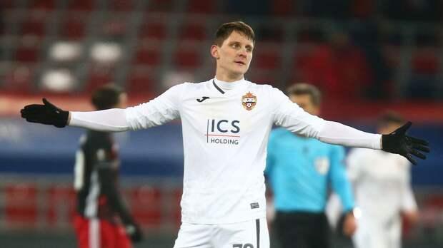 Защитник ЦСКА Дивеев: «Не знаю, почему вы думаете, что уже нельзя побороться за чемпионство»