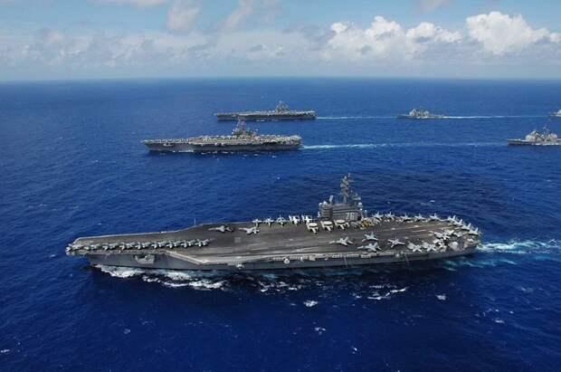 Эксперт рассказал, как быстро ВМФ РФ потопит авианосцы США в Средиземном море в случае конфликта