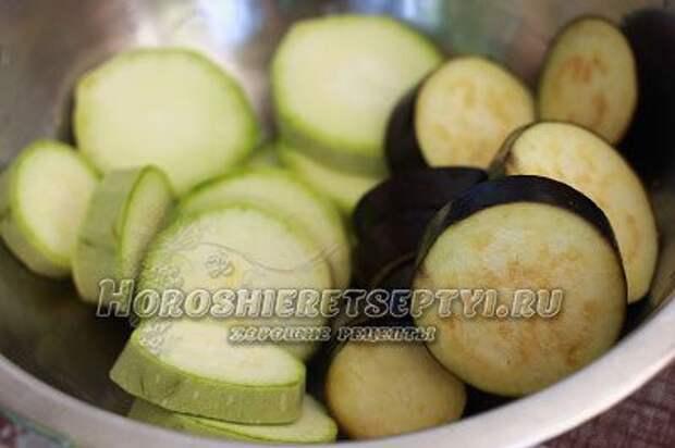 Овощи на решетке гриль