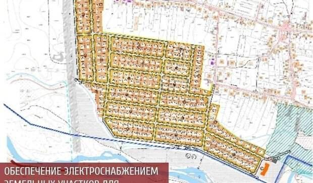 ВПятигорске проводят коммуникации кземельным участкам для многодетных семей