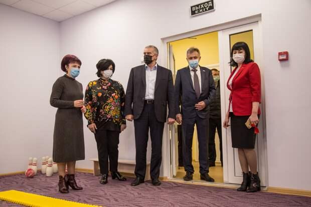 Аксёнов открыл модульный детсад на 100 мест в Симферополе