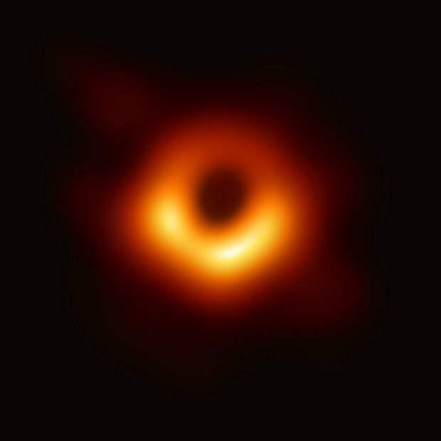 Чёрная дыра в центре галактики Messier 87 ESA/NASA/EHT