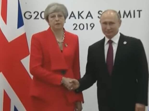 Песков поведал о «жестком» разговоре Путина с Мэй