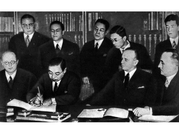 В январе 1942 года Германия и Япония поделили нашу страну по меридиану Омска