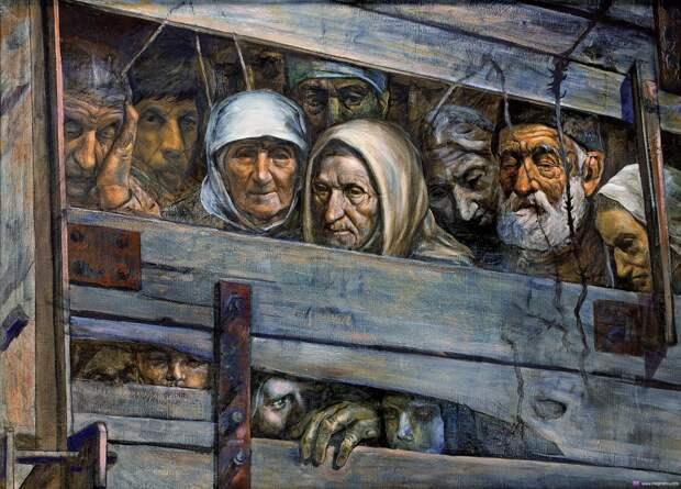 Крестьянская Голгофа. Коллективизация. Документальные свидетельства очевидцев 92-98.
