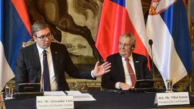 Президент Чехии извинился за бомбардировки Югославии авиацией НАТО
