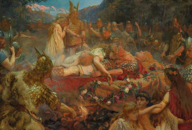 Вальхалла – небесный чертог, суровый рай павших воинов севера