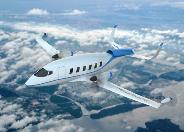 Словенцы представили проект водородного пассажирского самолета