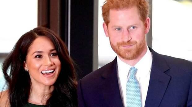 Принц Гарри с супругой Меган