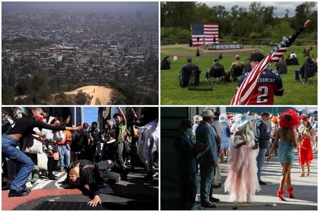 Интересные кадры из США, сделанные на прошлой неделе