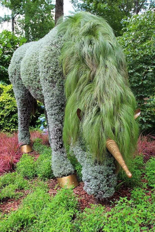 Ботанические сады Атланты и их восхитительные растительные фигуры