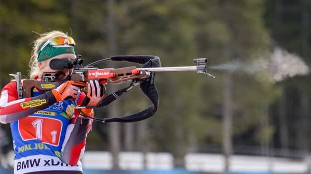 Хаузер выиграла женский масс-старт на чемпионате мира в Поклюке, Миронова — 19-я, Казакевич — 20-я