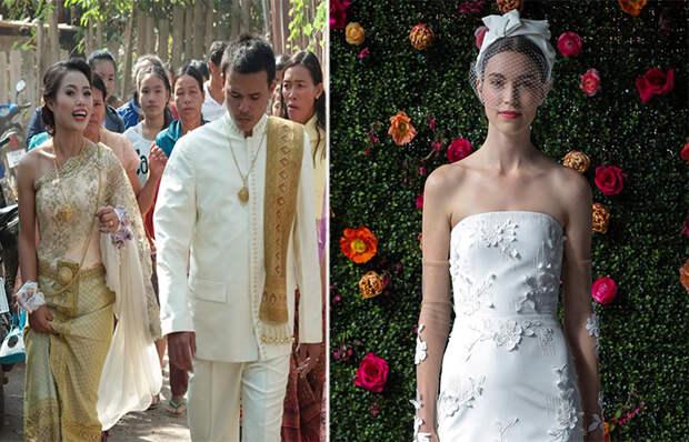 Свадебные традиции и наряды из разных уголков мира