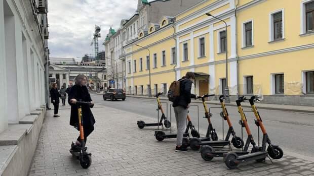 Популярность аренды электросамокатов у россиян выросла в мае в два раза