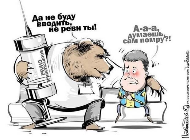 Украина. Июнь 2014 года. Обзор ситуации с высоты птичьего полета