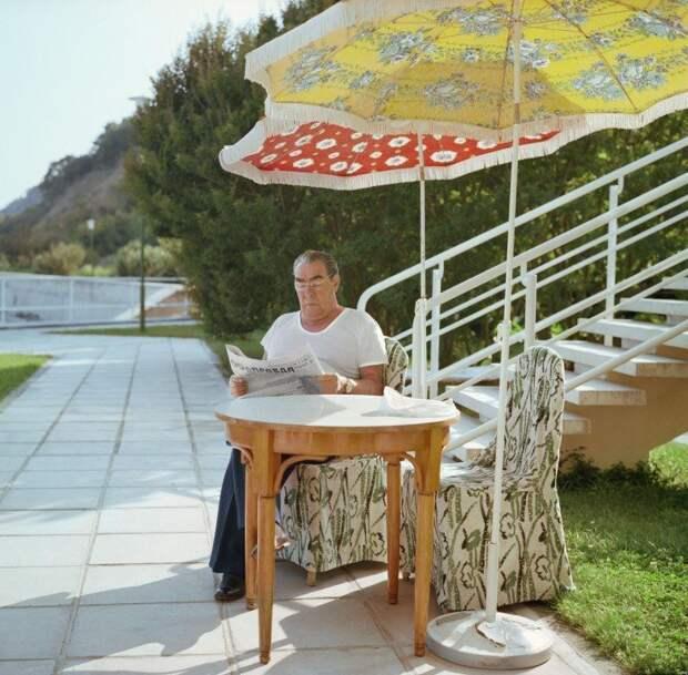 Леонид Ильич Брежнев, Крым, 1978 год СССР, быт, воспоминания, ностальгия, фото