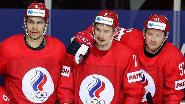 Состав сборной России на раскатке перед игрой с Канадой на чемпионате мира
