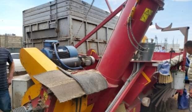 ВОренбургской области при погрузке зерна ввагон травмирован 17-летний подросток