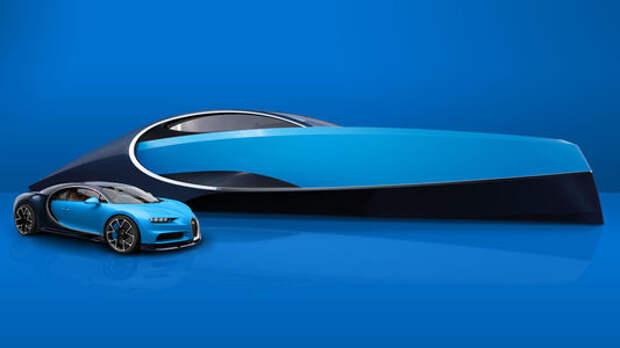 На волне Широна: под маркой Bugatti теперь можно купить яхту