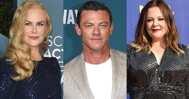 Николь Кидман, Мелисса Маккарти и Люк Эванс сыграют в «Девяти идеальных незнакомцах»