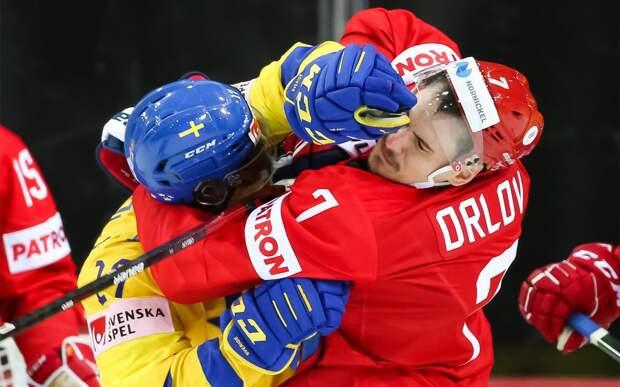 «Сказал спасибо ребятам, что галстук не подарили». Брагин и игроки сборной России — о победе над Швецией