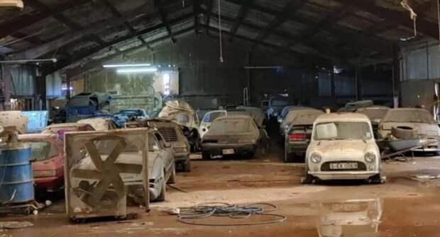 В США обнаружили сарай, набитый роторными Mazda