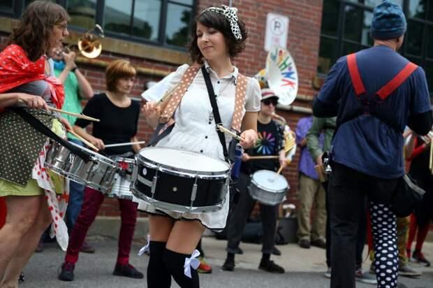 Музыкальный фестиваль Porchfest