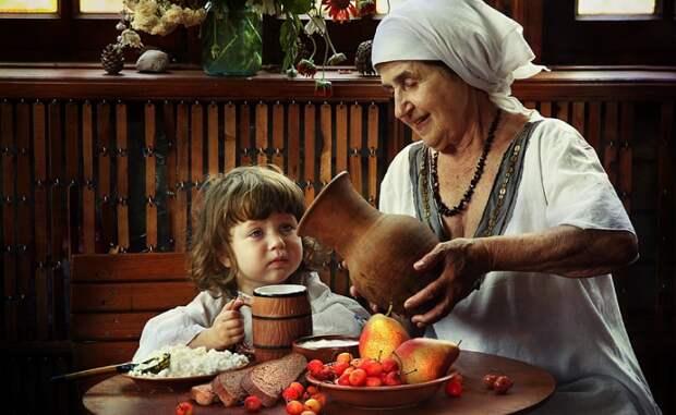 Должна ли бабушка постоянно быть с внуками