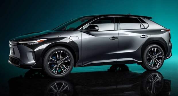 Toyota представила футуристичный кроссовер bZ4X