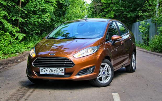 Ford Fiesta из парка ЗР: богатый внутренний мир
