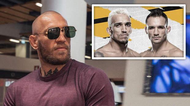 Макгрегор намекнул на готовность забрать пояс чемпиона UFC у Оливейры