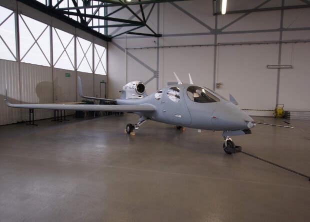 Польский очень легкий реактивный самолет совершил первый полет