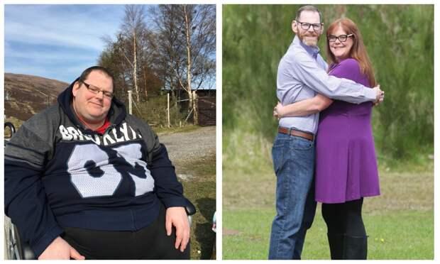 Самый толстый британец похудел на 270 кг, потому что боялся раздавить жену в постели