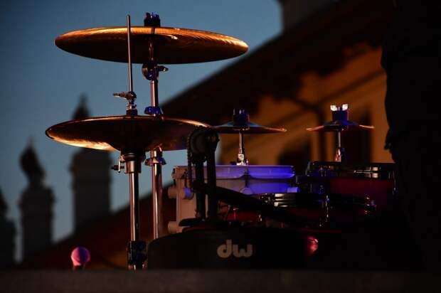 В сквере на Лазоревом проезде прозвучали джазовые мотивы