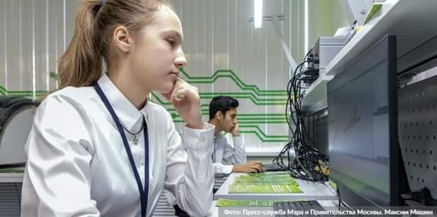 Сергунина: Обучение в детских технопарках Москвы прошли более 280 тыс школьников. Фото: М.Мишин, mos.ru