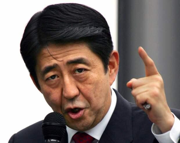 Абэ: Сначала все острова, затем мирный договор