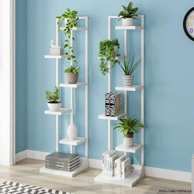 Подставки для комнатных цветов. Идеи (14) (700x700, 278Kb)