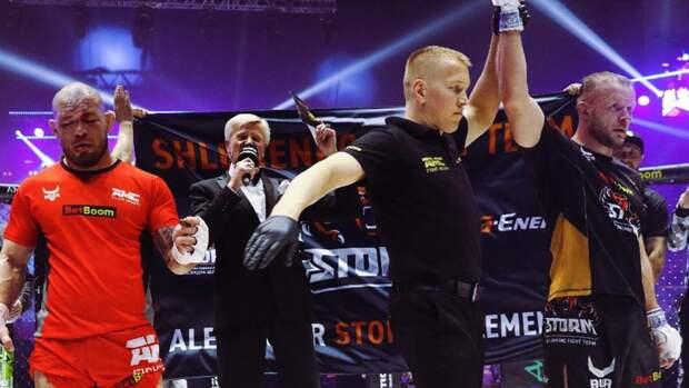 Марсио Сантос считает, что его засудили вбою соШлеменко: «Явыиграл два раунда»