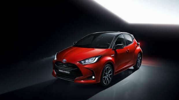 2020 Toyota Yaris global car - это совершенно новый гибрид