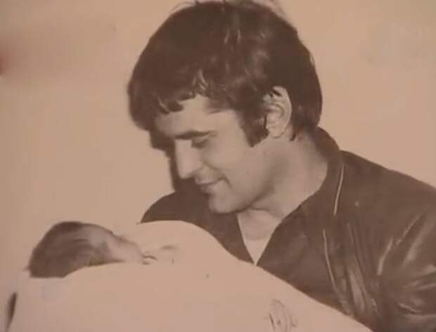 Бася со своим отцом Людвигом Космалем