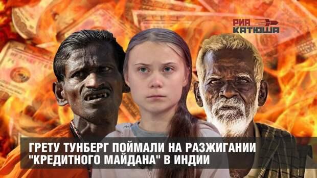 """Грету Тунберг поймали на разжигании """"кредитного майдана"""" в Индии"""