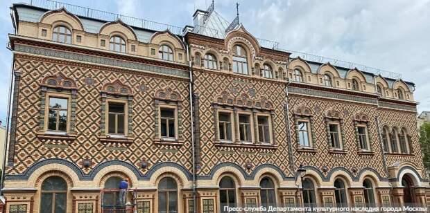Собянин: В Москве продолжается масштабная программа реставрации памятников архитектуры