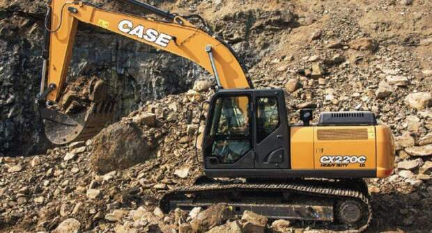 Новый экскаватор Case CX220C LC-HD стал доступен в РФ