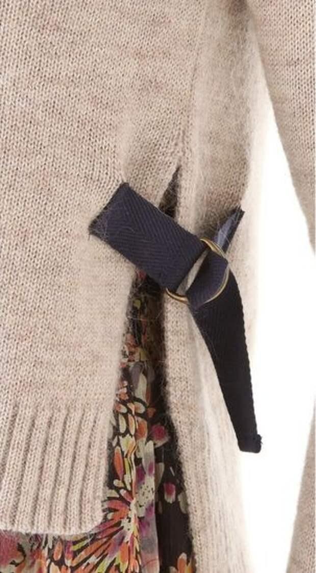 Неожиданная деталь на свитере