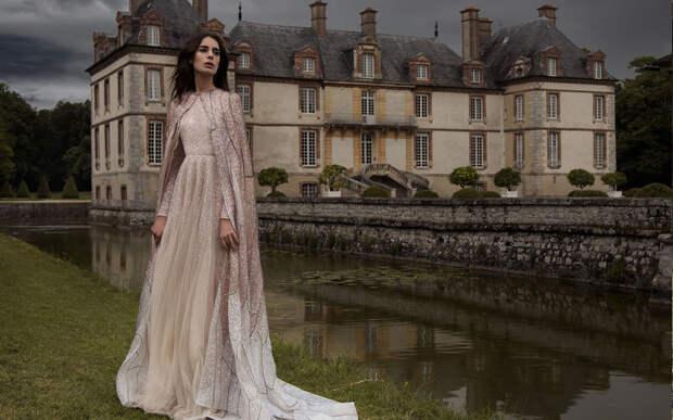 Paolo Sebastian Haute Couture осень-зима 2016-2017 -- прекрасные наряды с необыкновенной красоты отделкой. Просто шедевры!
