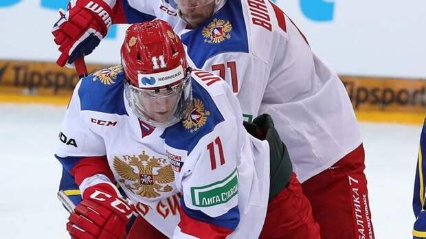 Сборная России уступила Финляндии во втором матче Чешских игр