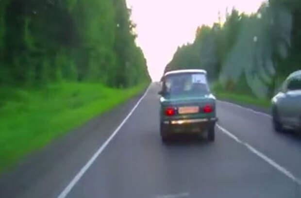 Видео погони за пьяным водителем