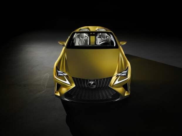 Концепт Lexus LF-C2 показали в Лос-Анджелесе